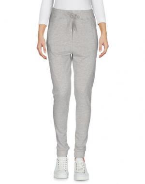 Повседневные брюки 2ND ONE. Цвет: светло-серый