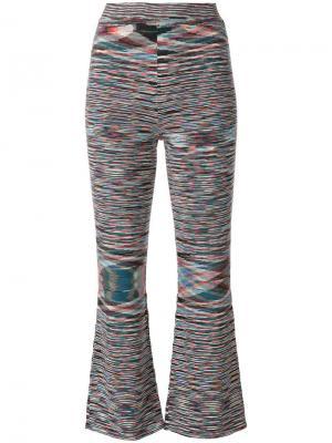 Укороченные тканые брюки Missoni. Цвет: многоцветный