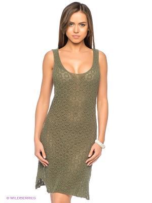 Платье Bomboogie. Цвет: зеленый