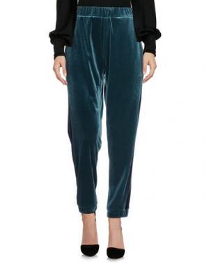 Повседневные брюки PAOLO CASALINI. Цвет: цвет морской волны