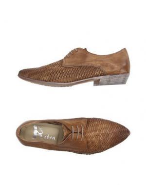 Обувь на шнурках COBRA. Цвет: верблюжий