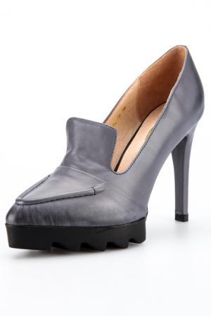 Туфли Rosa rot. Цвет: серый