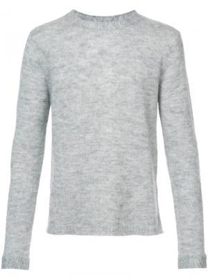 Джемпер с круглым вырезом Saturdays Nyc. Цвет: серый