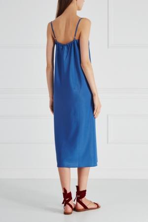 Платье-комбинация Cyrille Gassiline. Цвет: голубой