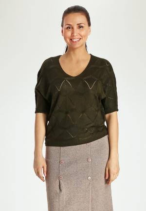 Пуловер Marissimo. Цвет: зеленый
