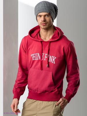 Худи Think Pink. Цвет: терракотовый