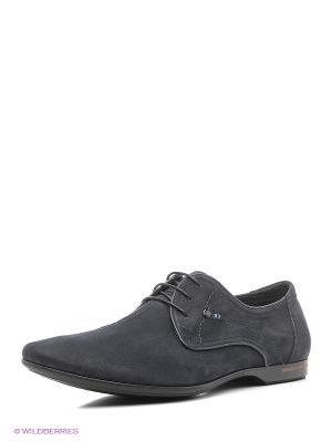 Туфли Companion. Цвет: темно-синий