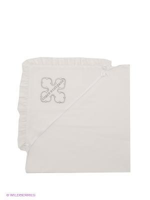 Полотенце Ангел мой. Цвет: белый, серебристый