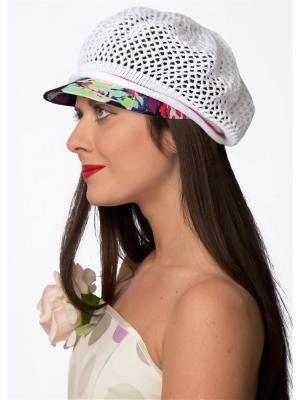 Кепка Сиринга. Цвет: белый, розовый, черный