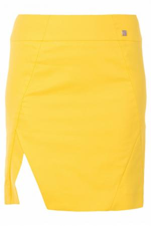Юбка Versace Collection. Цвет: желтый