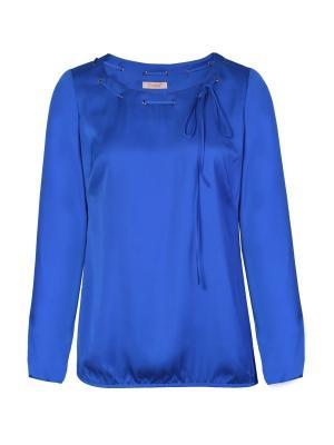 Блузка Endea. Цвет: лазурный