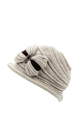 Шляпа Miss sherona. Цвет: бежевый