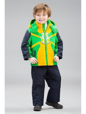 Комплект одежды Bilemi. Цвет: зеленый