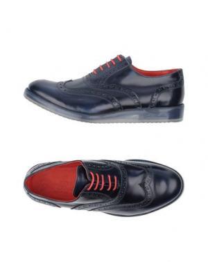 Обувь на шнурках GOLD BROTHERS. Цвет: темно-синий