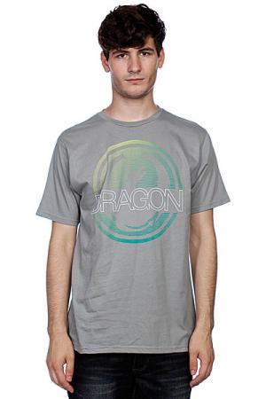Футболка  Sphere Charcoal Dragon. Цвет: серый