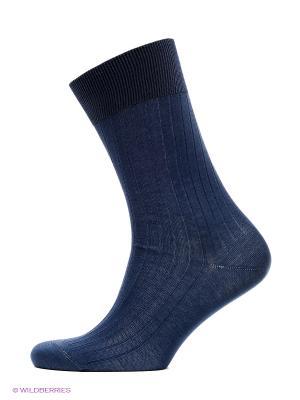 Носки Collonil. Цвет: темно-синий