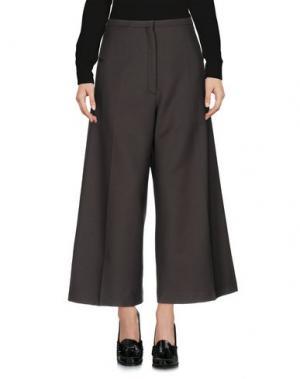 Повседневные брюки LEMAIRE. Цвет: стальной серый