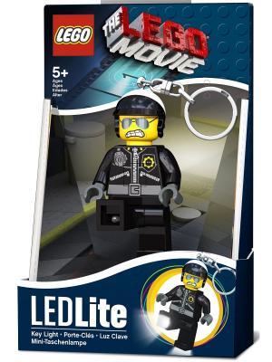 Брелок-фонарик для ключей LEGO MOVIE - Bad Cop. Цвет: черный, желтый