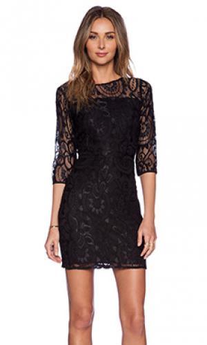 Платье rosie Myne. Цвет: черный