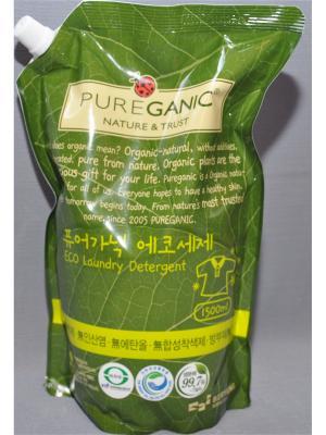 Гель для стирки Pureganic NATURE & TRUST. Цвет: прозрачный