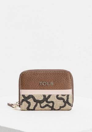 Кошелек Tous. Цвет: коричневый
