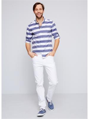 Брюки U.S. Polo Assn.. Цвет: белый