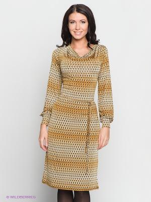 Платье Hammond. Цвет: светло-коричневый
