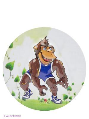 Сув.Сильная обезьянка Пуффи. Цвет: серо-зеленый