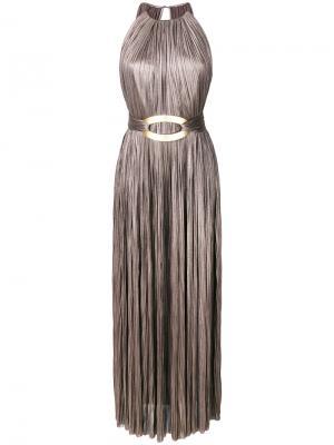 Luzia dress Maria Lucia Hohan. Цвет: коричневый