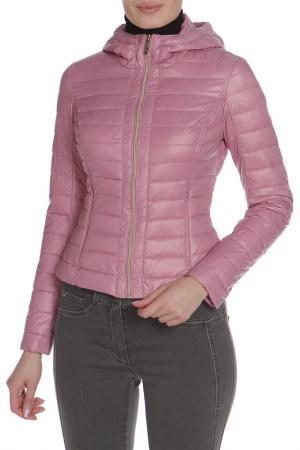 Куртка UP TO BE. Цвет: розовый