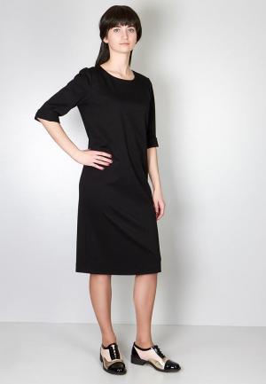 Платье Marina Rimer. Цвет: черный