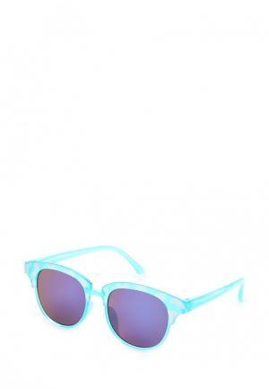 Очки солнцезащитные Piazza Italia. Цвет: бирюзовый