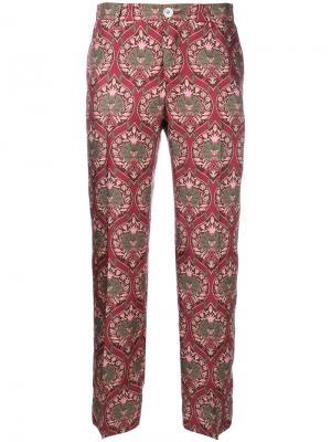 Укороченные брюки Ceo F.R.S For Restless Sleepers. Цвет: красный