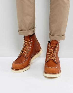Red Wing Кожаные ботинки 6 Inch Classic. Цвет: коричневый