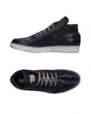 Высокие кеды и кроссовки CALPIERRE. Цвет: темно-синий