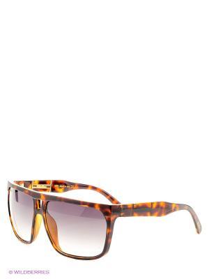 Солнцезащитные очки  B 257 C4 Borsalino. Цвет: коричневый