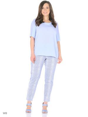 Блуза SOMMERMANN. Цвет: голубой