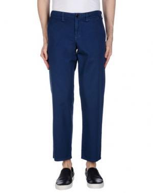 Повседневные брюки BLUE JAPAN. Цвет: темно-синий