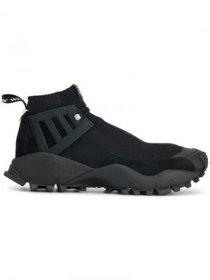 Кроссовки WM Seeulater Alledo PK Adidas By White Mountaineering. Цвет: чёрный