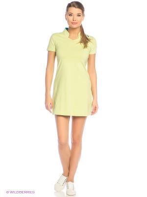 Платье Grishko. Цвет: светло-зеленый