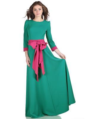 Платье OLIVEGREY. Цвет: морская волна, розовый