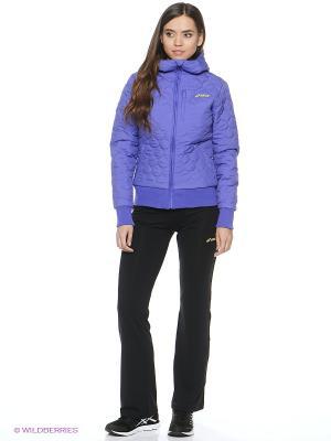 Куртка PADDED JACKET ASICS. Цвет: фиолетовый