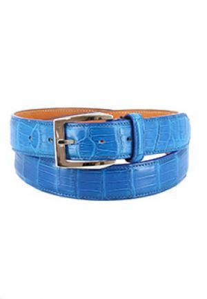 Ремень PAKERSON. Цвет: голубой