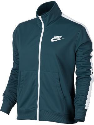 Куртка W NSW TRK JKT PK Nike. Цвет: синий