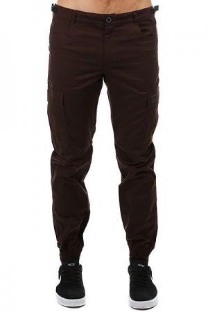 Штаны прямые  Chino Pockets Strap V3 Коричневый Skills. Цвет: коричневый