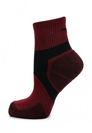 Носки Anta. Цвет: бордовый