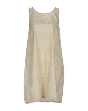 Платье до колена DOSA. Цвет: слоновая кость