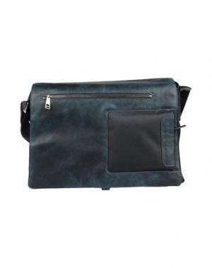 Деловые сумки PIQUADRO. Цвет: цвет морской волны