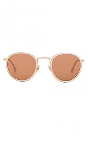 Солнцезащитные очки bryce Steven Alan. Цвет: белый