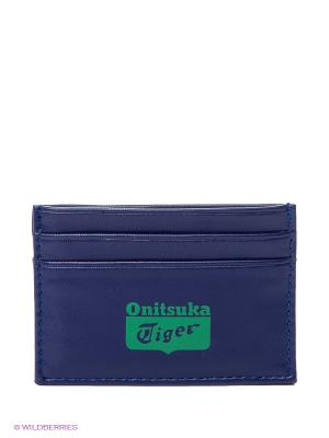 Визитница CARD WALLET ONITSUKA TIGER. Цвет: синий